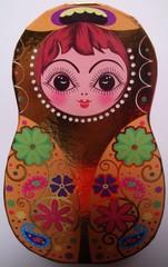 Matroschka #3 - Matroschka, Holz, Puppe, Souvenir, russisch, Russland