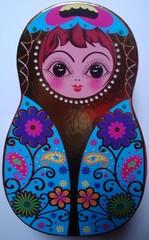 Matroschka #2 - Matroschka, Puppe, Holz, Souvenir, russisch, Russland
