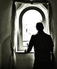 Ausblick am Fenster #veränderter Bildausschnitt - Ausblick, Einblick, Ansicht, Durchblick, Perspektive, Fenster, Licht, Schatten, Lichteinfall, Kunst, Blickwinkel, sinnieren, phantasieren, fantasieren, Ethik, Meditation, Gedanken, Vergangenheit, Erinnerung, erinnern, Ruhe, Impuls, Kontrast, Phantasiereise, Schreibanlass, Erzählanlass, Blick, Aussicht, Ausschau halten, schauen, heraus schauen, sehen, Weitsicht, Standort, Standpunkt
