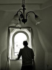 Ausblick aus dem Fenster #bandicot - Ausblick, Einblick, Ansicht, Durchblick, Perspektive, Fenster, Licht, Schatten, Lichteinfall, Kunst, Blickwinkel, sinnieren, phantasieren, fantasieren, Ethik, Meditation, Gedanken, Vergangenheit, Erinnerung, erinnern, Ruhe, Impuls, Kontrast, Phantasiereise, Schreibanlass, Erzählanlass, Blick, Aussicht, Ausschau halten, schauen, heraus schauen, sehen, Weitsicht, Mensch, Standort