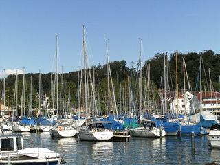 Yachthafen - Yachthafen, Marina, Hafen, Anlegestelle, Liegeplätze, Sportschifffahrt, Segelschiffe, Motorschiffe