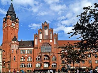 Rathaus Köpenick - Berlin, Köpenick, Deutschland, Geschichte, Deutsch, Kunst, Architektur, Backsteingotik, Gotik, Backstein