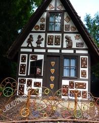 Hänsel und Gretel - Lebkuchenhaus, Hänsel und Gretel, Hexe, Lebkuchen, Brüder Grimm, Erzählanlass, Schreibanlass