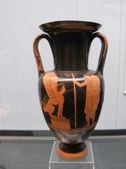 Das Rätsel der Spinx - Griechenland, Griechen, Mythologie, Antike, Ödipus, Theben, Amphore, Krug, Kunst, Handwerkskunst