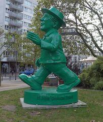 Ampelmännchen - Skulptur, Kunstwerk, Ampelmännchen, DDR