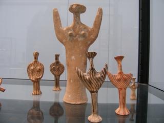 Mykenische Frauen -  - Griechenland, Griechen, Mykene, Antike, Frauen, Jungsteinzeit, Kykladenkultur, Figur, Kult, Grab, Votive, Heiligtümer, Frauenfiguren