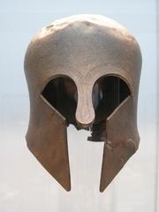 Korinthischer Bronzehelm - Bronzehelm, Griechenland, Griechen, Soldaten, Krieg, Kampf, Antike