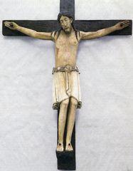 Jesus am Kreuz - Jesus, Christus, Kreuz, Plastik, Kruzifix, Religion, Symbol, Kreuzigung, Christentum, Holzplastik