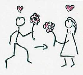 lieben - Liebe, verliebt, Mann, Frau, redire, Latein, verliebt, lieben
