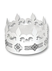 Krone #1 - Krone, König, Märchen, Sage, Schmuck, Kopfschmuck, Illustration, Anlaut K, Einzahl, Singular