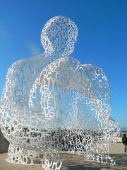 Plensa Nomade#3 - Jaume Plensa, Nomade, Skulptur, Hafen, Antibes
