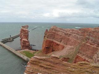Helgoland - Helgoland, Felsen, Küste, Nordseeinsel, Buntsandstein, Geologie, Lange Anna