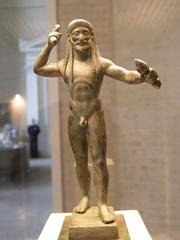 Blitzschwingender Zeus - Votivstatue  - Griechenland, Antike, Göttervater, Götter, Zeus, Blitz, griechisch, Statue, Figur, Kunst