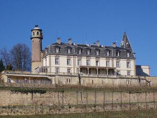 Elsass : ein Restaurant - Schloss, Renaissance