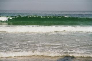 Welle am Strand - Welle, Wasser, Strand, Durness, Schottland, Natur, Brandung, Meer