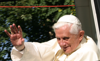 Papstbesuch - Papst, Bayern, 2006, Benedikt, Ratzinger, Joseph, Benedikt XVI., Altötting