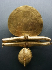 Etruskischer Goldschmuck aus dem 7. Jh. v.Chr. - Schmuck, Goldschmuck, Etrusker, Kunsthandwerk, Fibel, Gold