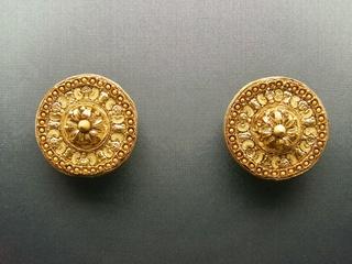 Griechischer Goldschmuck aus dem 4. Jh. v.Chr. - Griechenland, Antike, Schmuck, Goldschmuck, Ohrringe, Kunsthandwerk, Gold