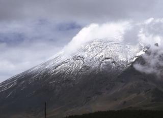 Vulkan Popocatepetl, Mexiko  - Vulkanismus, Vulkan, Mexiko, Krater