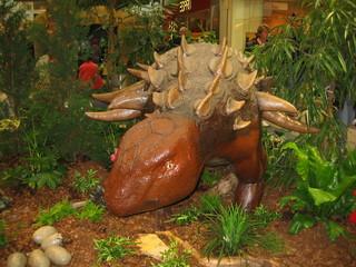 Saurier  - ausgestorben, Urzeit, Stacheln, Saurier, Dinosaurier