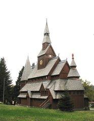 Stabkirche Hahnenklee  - Kirche, Stabkirche, Sakralbau, Holz