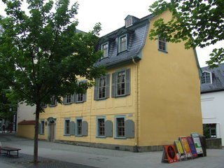 Schillerhaus in Weimar - Schiller, Weimar, Klassik
