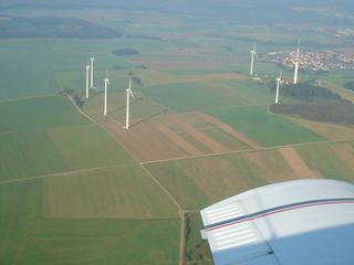 Windräder - Landschaft, Windrad, Energiegewinnung, regenerative Energie