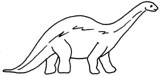 Dino - Dino, Dinosaurier, Saurier, Illustration, Anlaut D