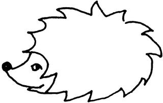 Igel 1 - Igel, Tier, Stachel, stachelig, Anlaut I