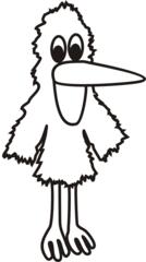 Leserabe #2 - Rabe, Vogel, Handpuppe, Schnabel, offen, Anlaut R, lesen