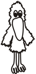 Leserabe #4 - Rabe, Handpuppe, Vogel, Schnabel, geschlossen, zu, Anlaut R, lesen