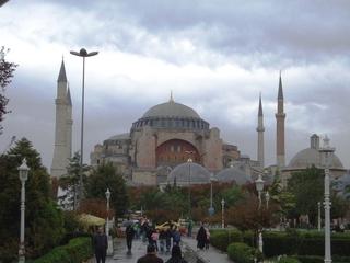 Hagia Sophia, Istanbul - Türkei, Istanbul, Osmanisches Reich, byzantinische Baukunst, Islam, Religion, Weltreligion, Kirche, Minarett, Geschichte, Geografie