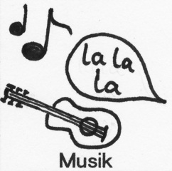 Piktogramm Musik - Piktogramm_Stundenplan, Musik, singen, Noten, Musikinstrument, musizieren, Gitarre
