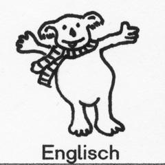 Piktogramm Englisch - Piktogramm_Stundenplan, Englisch, Fremdsprache, Bär