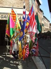Siena Fahnen der Contraden - Italien, Siena, Fahnen, Contraden