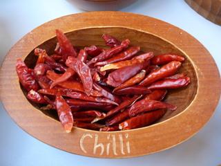 Curry herstellen#6 - Chilischoten getrocknet - Chili, Chilischoten, Gewürz, Indien, Mexiko, Curry-Herstellung, scharf