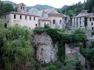 Saint-Guilhem-le-Désert - Frankreich, Südfrankreich, Jakobsweg, antike Architektur, Architektur, Kloster, Mittelalter, Hérault, Romanik