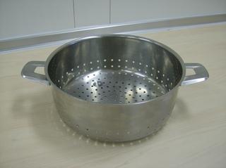 Salatsieb - Salatsieb, Sieb, trennen, sieben, Edelstahl, Löcher, Küchengerät