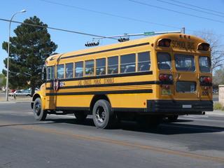 Schoolbus - Schulbus, schoolbus, Transport, öffentliches Verkehrswesen, öffentlicher Nahverkehr, Personenbeförderung, Fahrzeug, Bus, Schule, USA
