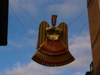Rauschgoldengel - Christkindlesmarkt, Christkindlmarkt, Weihnachtsmarkt, Nürnberg, Rauschgoldengel, Geschichte, Tradition, Engel, Dekoration, Gold