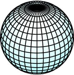 Kugel - Mathematik, Analytische Geometrie, Kugel, rund, Gitternetz, dreidimensional, Analysis