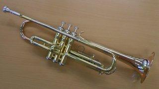 Trompete  - Trompete, Jazztrompete, Trompete mit Pumpventilen, Blechbläser, zylindrisch