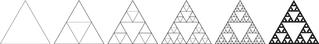 Sierpinksi-Dreiecke - Mathematik, Iterationen, Rekursion, Folgen, Reihen
