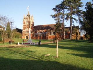 Englische St. Johns Kirche - Kirche, Church of England, UK