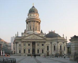 Berlin - Deutscher Dom - Kuppel, Friedrichstadtkirche, Kuppelturm, Turm
