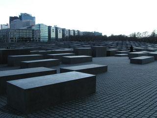 Holocaust-Mahnmal - Denkmal, Mahnmal, Judenvernichtung, Holocaust, Nationalsozialismus, Berlin, Brandenburger Tor