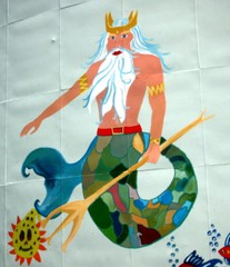 Neptun - Triton - Wasser, König, Wassermann, Neptun, Triton, Dreizack, Nixe, Märchen, Sage, Märchenfigur, Sagenfigur