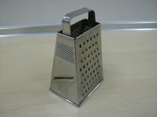Vierkantreibe - Vierkantreibe, reiben, hobeln, raspeln, zerkleinern, Küchenreibe, Edelstahl