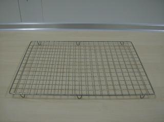 Kuchengitter - Kuchengitter, Gitter, Edelstahl, Rechteck, rechteckig, auskühlen