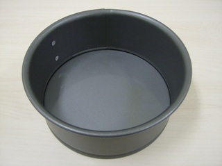 Kuchenform - Kuchenform, Springform, Backform, backen, Kuchen, Torten, Teig, Metall, Antihaftbeschichtung, rund, Kreis